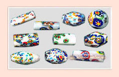 Millefiori Venetian Beads
