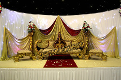 Indian King Wedding Furniture