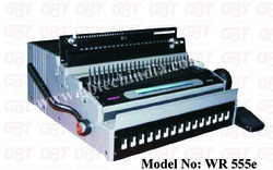 WR 555e  (Electric Comb And Wire Binder)