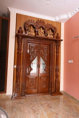 Pooja room door designs room door design door design and doors altavistaventures Gallery