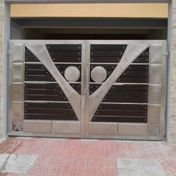 Stainless Steel Gates V design