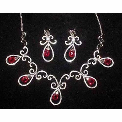American Diamond Necklaces