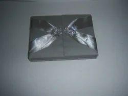 Boxed Silk Fabric Wedding Invitation