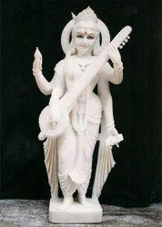 Standing+Saraswati+Mata+Statue