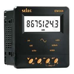 energy panel meters