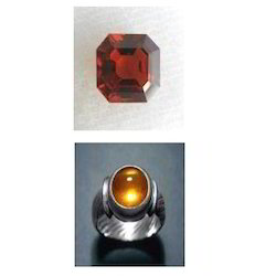 Natural Hessonite Garnet (Gomed)