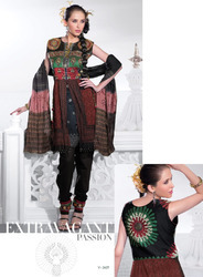 Silk Fabric Salwar Suits
