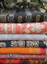 Vintage Cotton Kantha Stitched Quilts