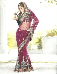 Heavy Embroidered Sarees