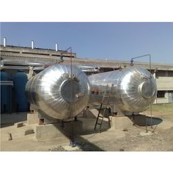 Two 20MT Liquid Co2 Storage Tank