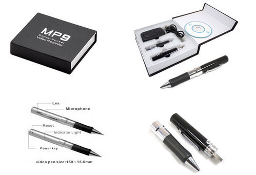 16 Gb Spy Pen Audio/Video Camera