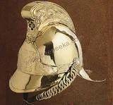 Brass Fires Man Helmet