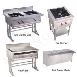Two Burner Gas, Pot Burner, Hot Plate & Hot Baine Marie