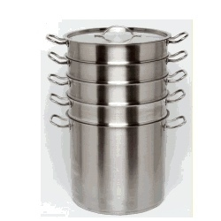stainless steel 5 tier steamer