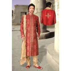 Silk Kurta Payjama With Stole