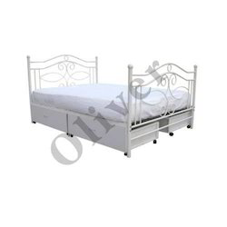 Double Bed With Pullout Storage