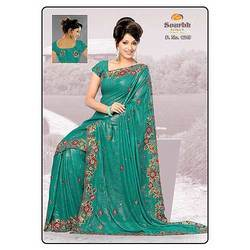Sky Color Saree