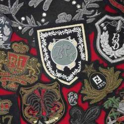 Antique/ Vintage Embroidered Emblems & Crests
