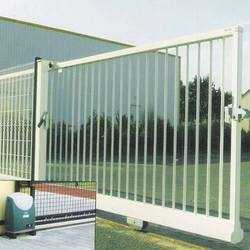 Iron Motorized Sliding Gate