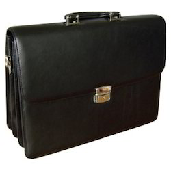 Leather Briefcase Case