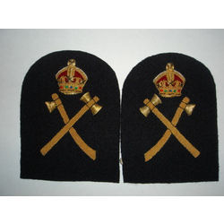 Military Badghe - Chief Shipwright Shoulder Badge