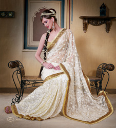 Light Embroidered Sarees