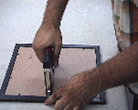 Special Application-To Join The Hard Board Back Base To The Wooden / Moulding Photo Frames