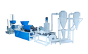 plastic granule machine pelletizing line