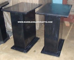 Marble Table Base and Pedestal