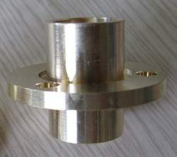 CNC Machined Brass Part