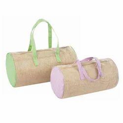Jute Horizontal Fashion Bag