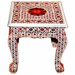 minakari rajwadi table