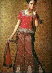 Hand Embroidery Lehengas Choli