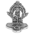 om sai white metal god idols figures