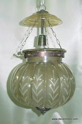 glass mosaic hanging lamps