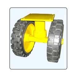 Dual Solid Tyre Caster Wheel