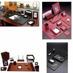 Leather+Desk+Set