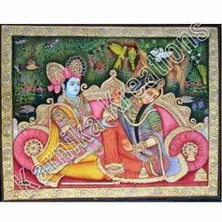 Crafted Tanjore Painting