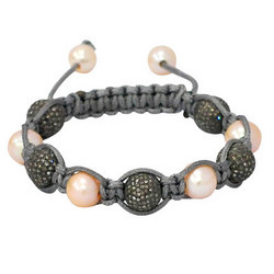 Pearl Macrame Bracelet Jewelry