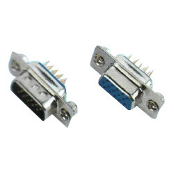 D-SUB H.D.DIP Straight Type Connector