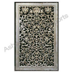 Antique Finish Floral Jali
