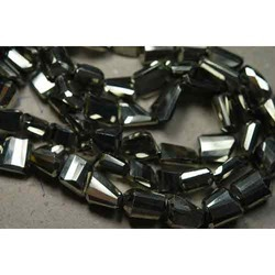 Luster Pyrite Faceted Step Cut Nuggets