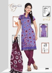 Preyasi Cotton Salwar Kameez Dress Material