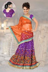 Majesty Deep Purple Lehenga Choli Item Code: IV43914