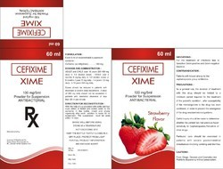 Cefixime 100mg / 5ml In 60 ml Bottle