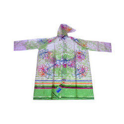 Gloria Crystal Printed Raincoat