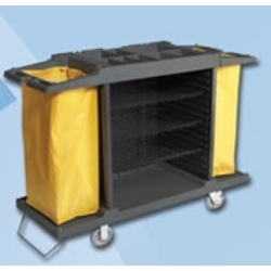 Multifunction Service Cart Linen Trolley