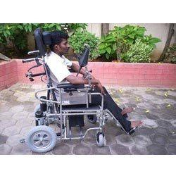 Chin Drive Wheelchair