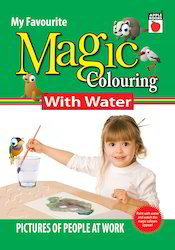Magic Coloring With Water People At Work