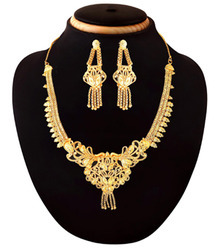 Imitation Fashion Designer Gold Plated Necklace Jewellery